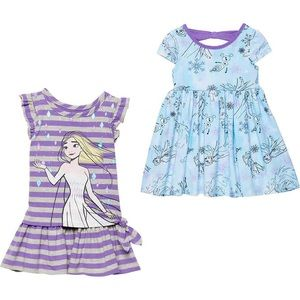 🔥 Disney 2 Pack Frozen Dresses- Elsa & Olaf